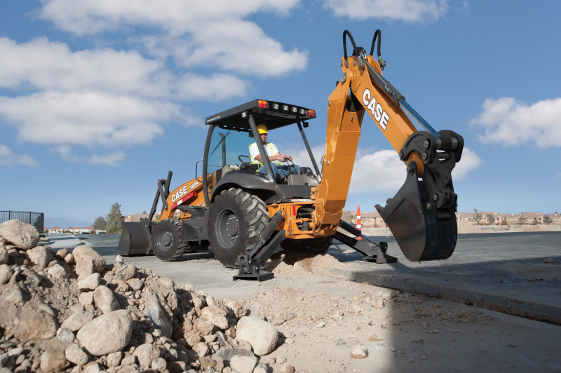 N Series Backhoe Loader for sale and hire victoria - CASE VIC
