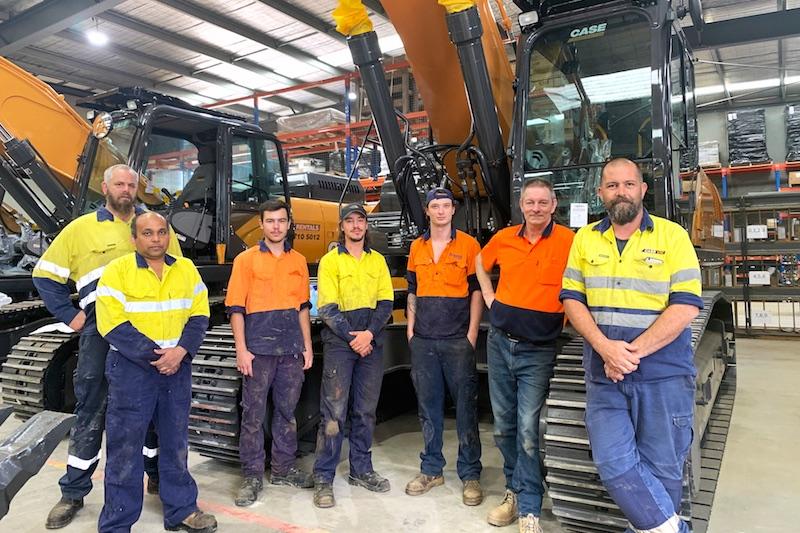 Plant equipment service Case Vic melbourne