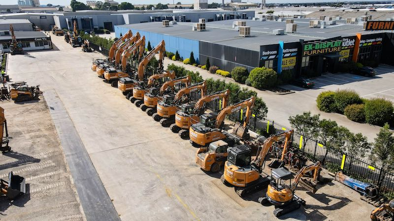 Plant Equipment Hire, Excavator Hire, Skid Steer Hire, Dry Hire- CASE VIC