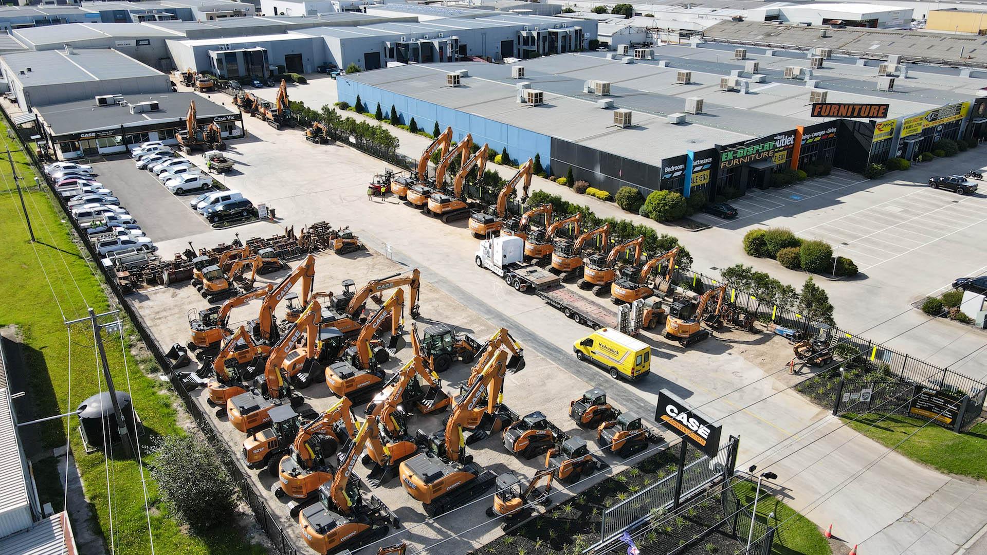 Plant Equipment for Sale & Hire - Dandenong Victoria - CASE VIC 23/04
