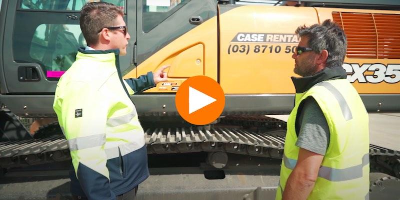 Case Vic excavators for sale melbourne