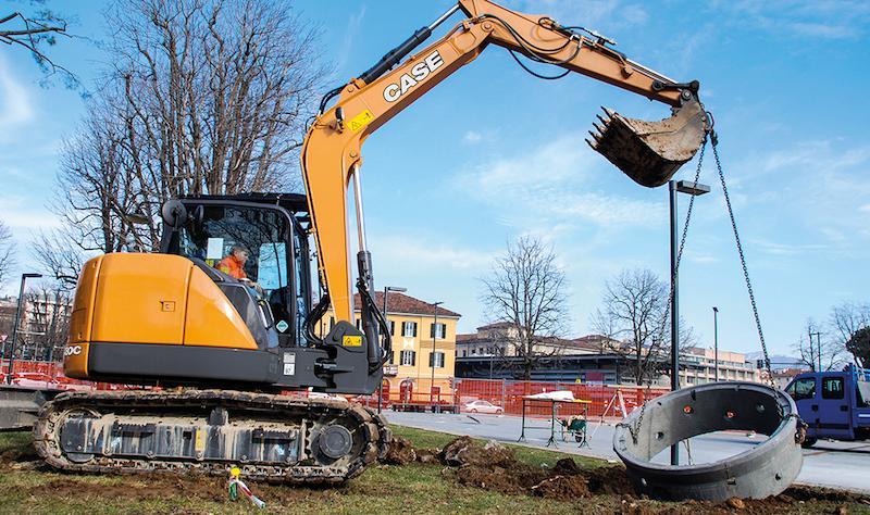 CASE midi excavators for sale and rental melbourne Victoria Dandenong